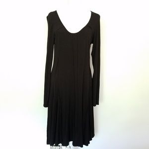 Philosophy Cut & Sew Raw Hem Patchwork Boho Dress